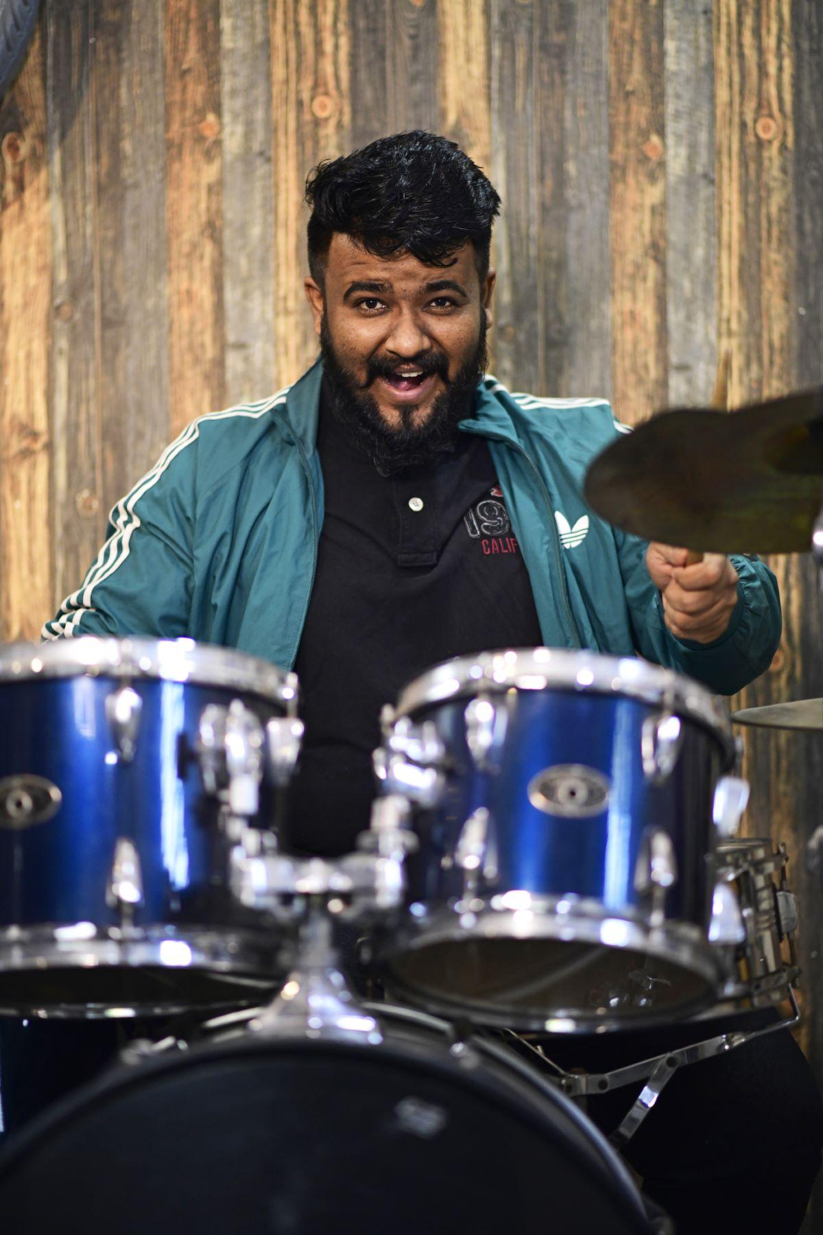 A Portrait of Parth Bhavsar: Rhythmist and Lyricist at Ehsaas Band