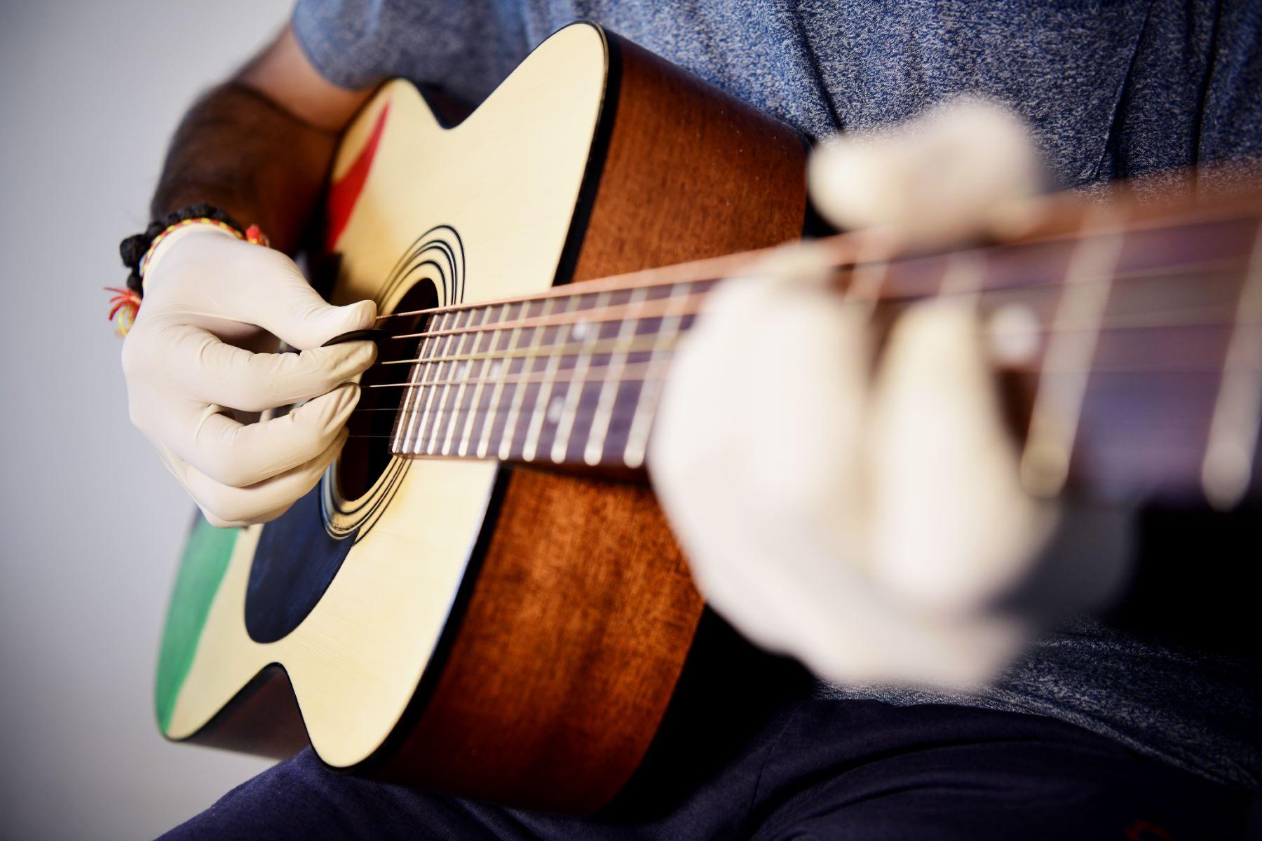 Gloves, Guitar, Raj
