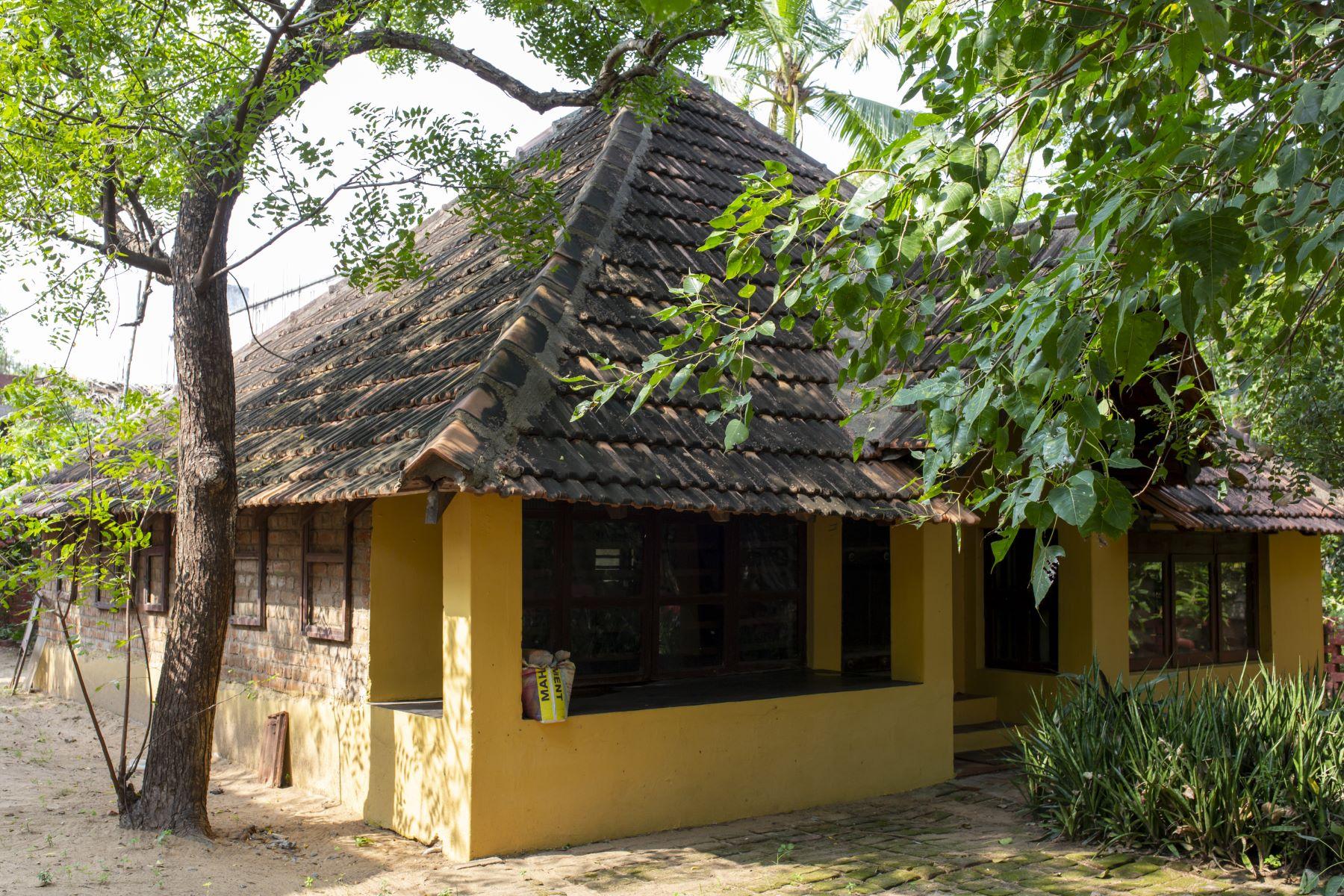 Artist Velu Viswanadhan's house