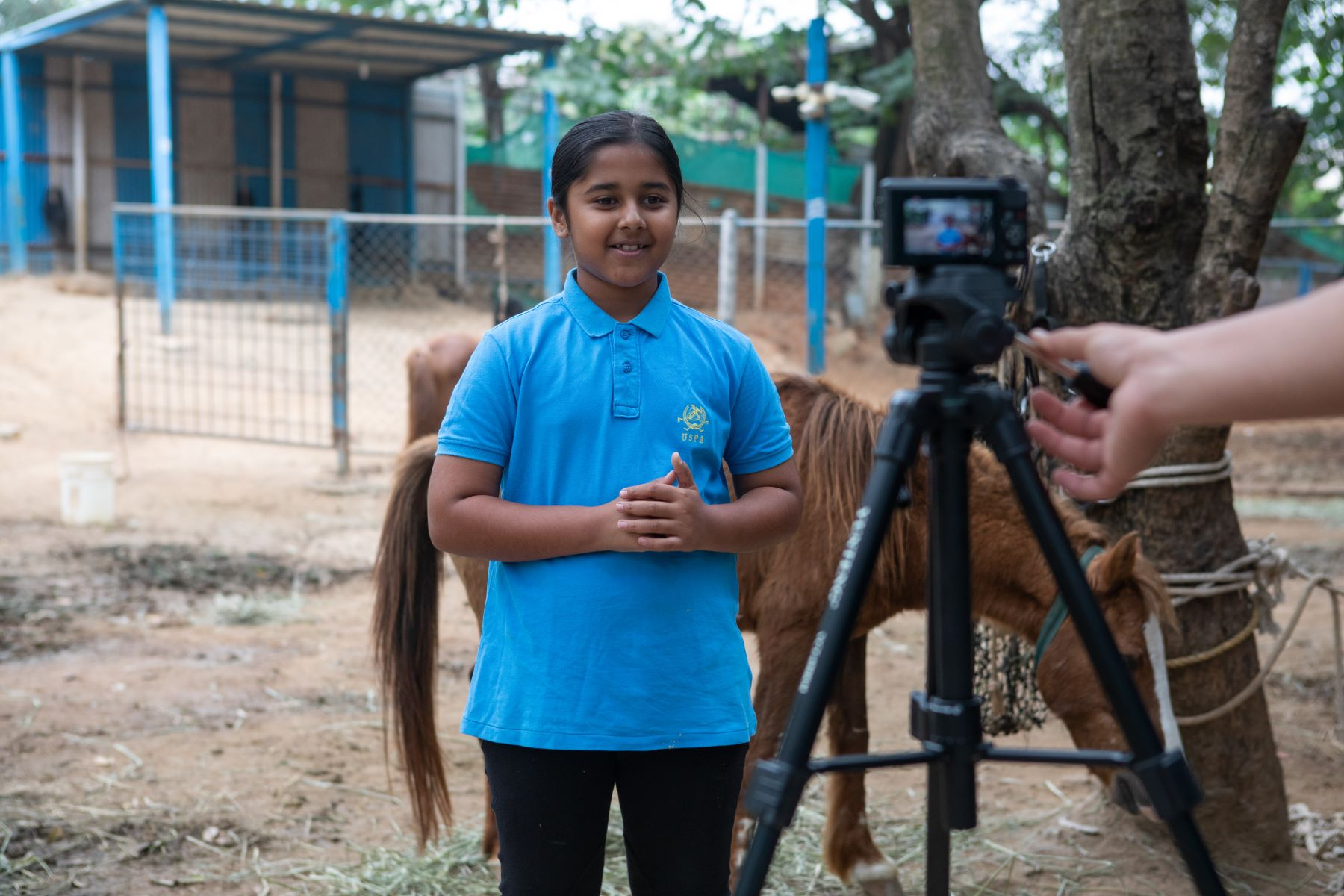 Simhasthitha Singh records another YouTube video for Samabhava